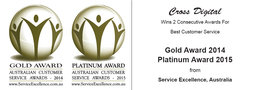 Australian Customer Service Excellence Award